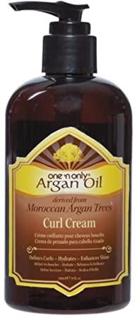 One N Only Argan Oil Curl Cream, 10 oz Pack of 4