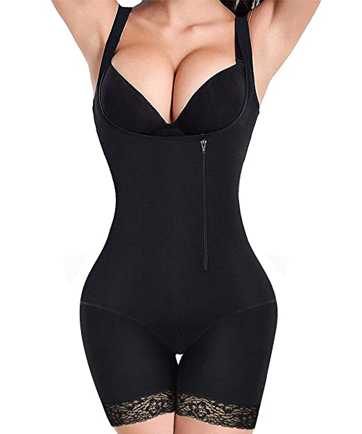 3ba78a8ebe RIBIKA Plus Size Shapewear Women Body Shapers Corsets Slimming Waist Shapers  Bodysuit