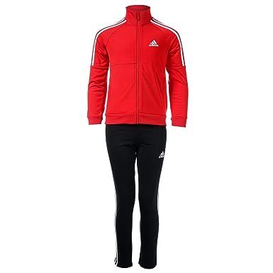 adidas - Chándal - para niño Rojo Rosso 15 años: Amazon.es: Ropa y ...