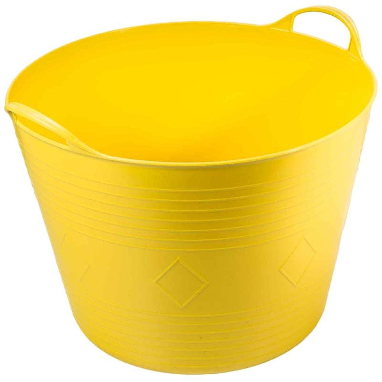 43 L lunghezza giallo colore Super Clean 07903-Secchio flessibile con manico