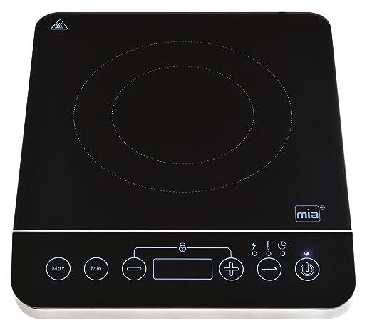 mia-germany – IKP 2213 – Hornillo Placa Inducción digitale temporizador programable – 2000 watts