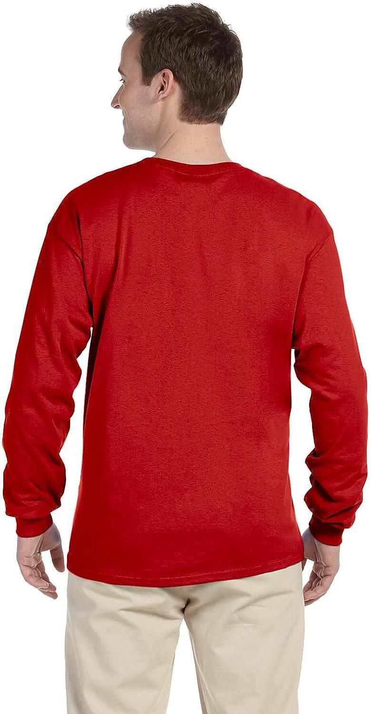 Multicolor Carolines Treasures KJ1182-LS-RED-2XL Red Snowflakes Alaskan Malamute Long Sleeve Red Unisex Tshirt 2XL 2XL
