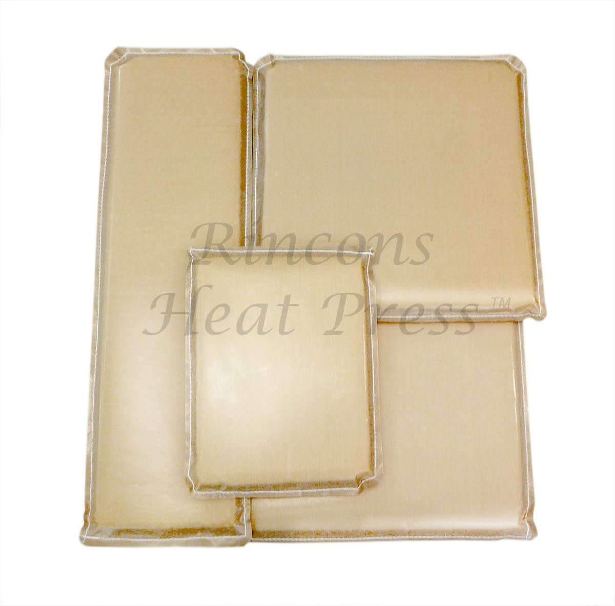 Teflon Heat Resistant Pressing Pillows for Screen Print and Heat Pressing Shirts 6x6