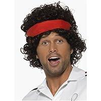 Eighties Tennis Player Wig