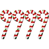 "Set of 4 Inflatable CANDY CANES 44"" - Christmas Holiday DECORATIONS/Inflates/DECOR"