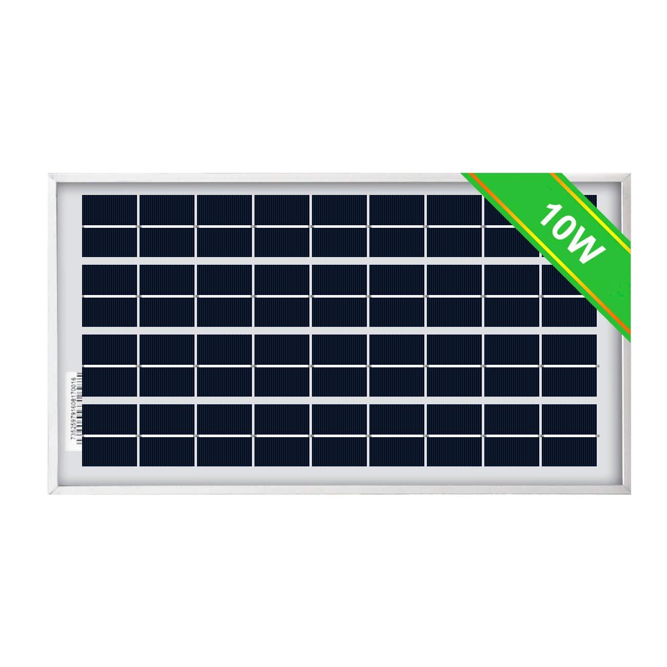 ECO-WORTHY 10W Solar Panel 10 Watt 12 Volt Pv Solar Module,Solar Cell Panel by ECO-WORTHY