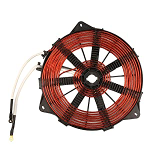 3500W 240mm Heat Coil All Copper Wire Induction Heating Panel Big Power Induction Cooker Accessory