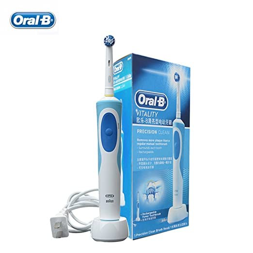Amazon.com: Oral b D12013 Electric Toothbrushes Rechargable Brands Oral Hygiene Dental Care Electric Tooth Brushes: Health & Personal Care