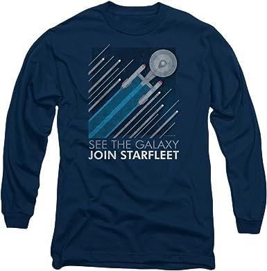 Star Trek Enterprise Patch Adult Work Shirt