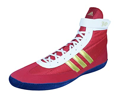 e708b4fc20e4 adidas Combat Speed 4 b Mens Wrestling Shoes Sneakers-Red-15