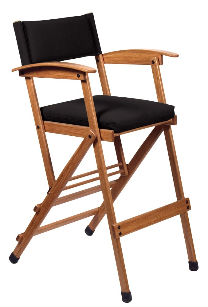 Hollywood Chairs by Totally Bamboo 32'' Elm Director Chair, Black by Hollywood Chairs