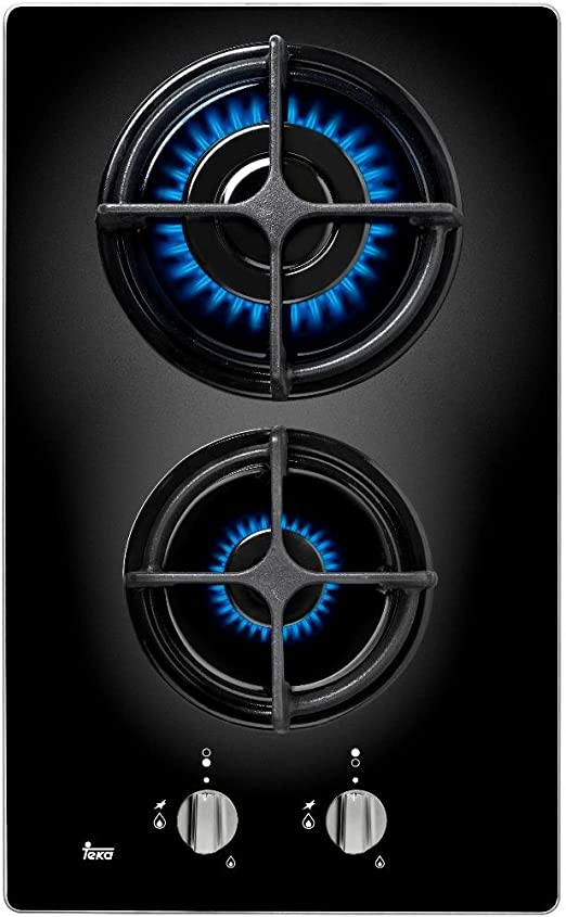 Teka CGB LUX 30 2G AL CI Integrado Encimera de gas Negro - Placa ...