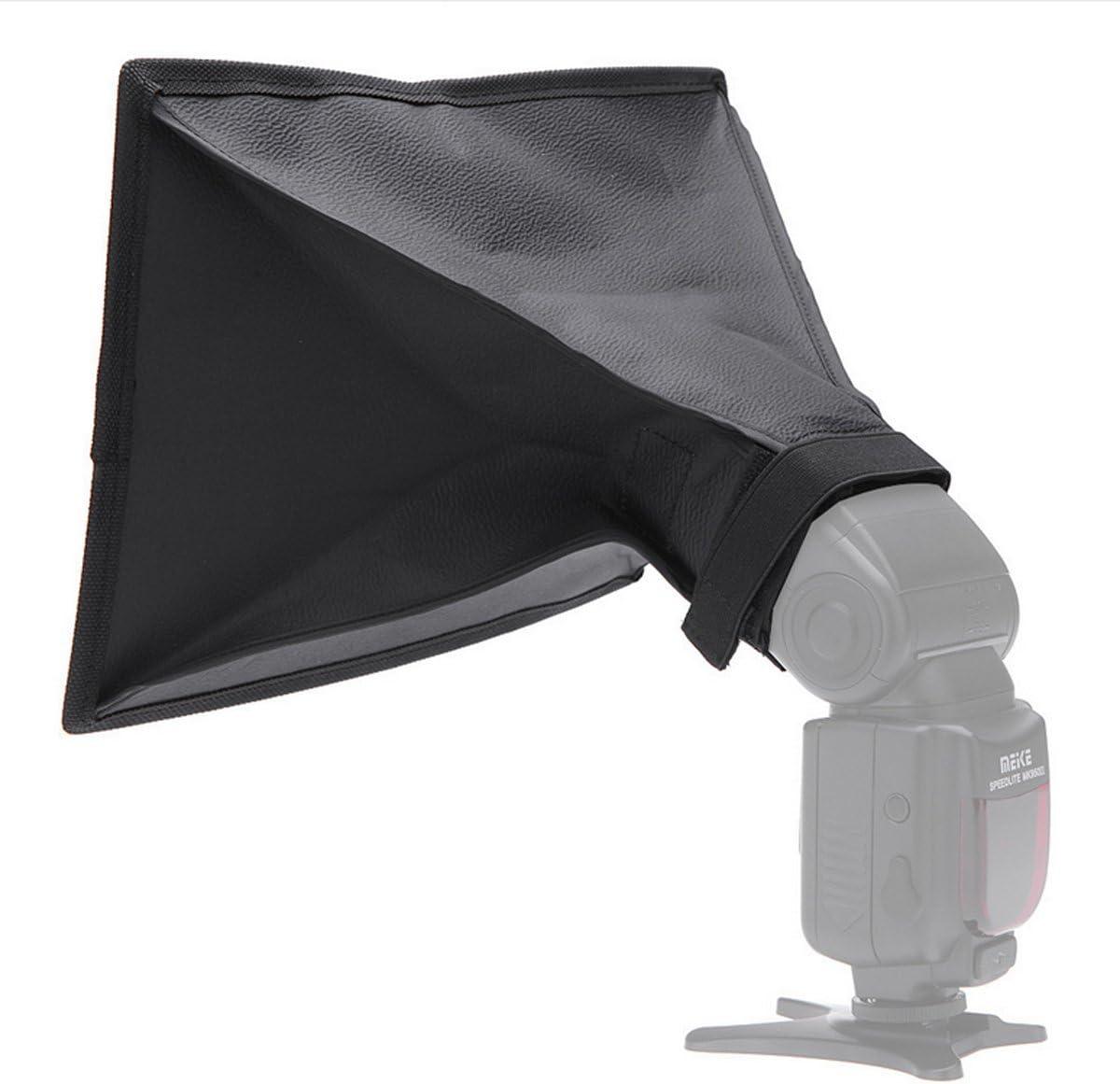 flycoo Mini 20//× 30/cm 7.87//× 11.81/faltbar Diffusor Kamera Flash Softbox f/ür LED Flash Video Licht