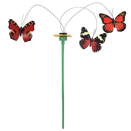 5 opinioni per DIGIFLEX Decorazione da giardino farfalle colorate che volano come se fossero