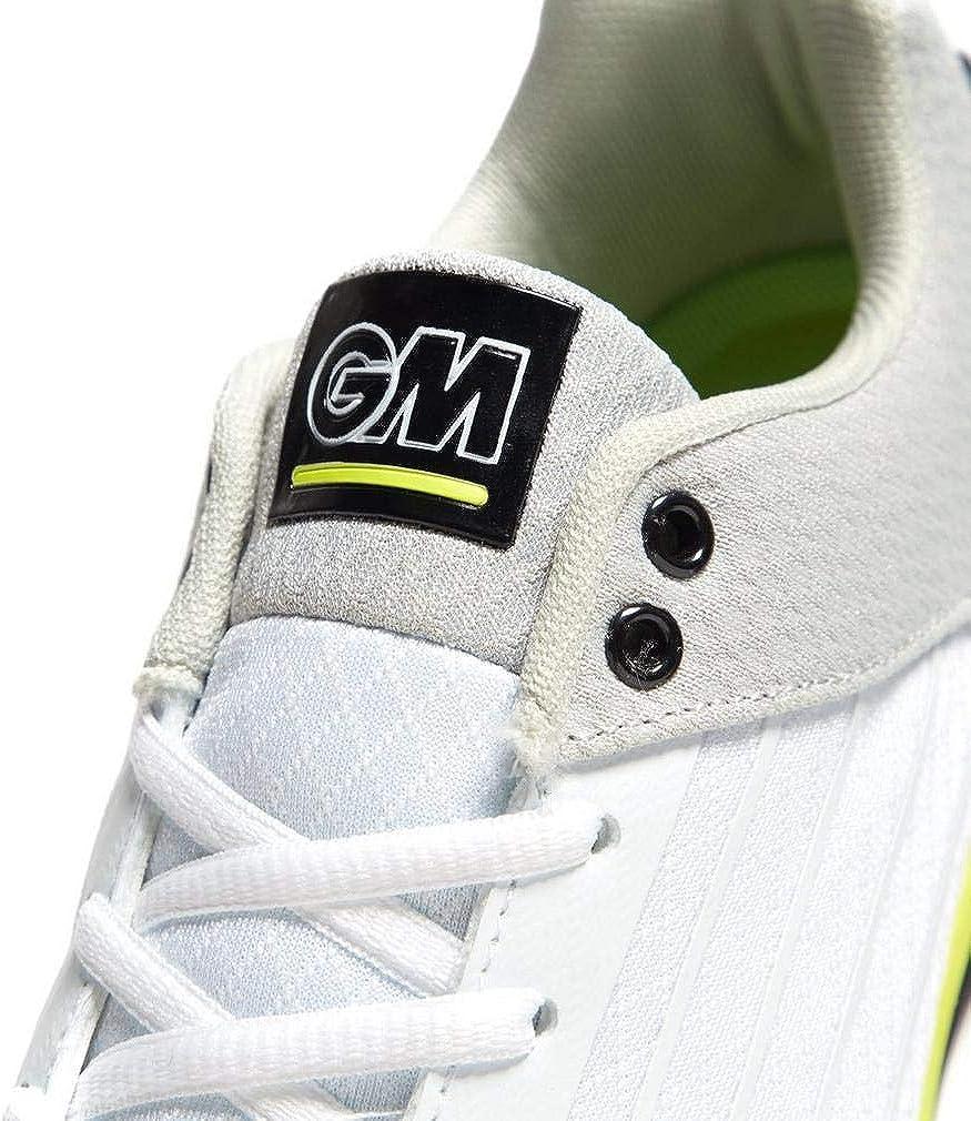 Gunn /& Moore 2019 All Rounder Mens Adult Cricket Shoe White//Lime