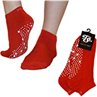 FitSox Pilates, Yoga, Barre, Ballet, Dance, Fitness, Martial Arts, Gym, Workout, Anti Slip, Non Slip, Grip, Skid, Fall…