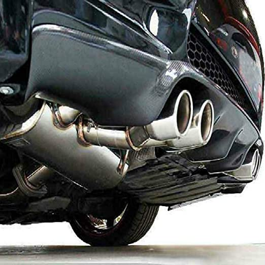 V Style Real Carbon Fiber Rear Diffuser for BMW 3-Series E92 E93 M3 Bumper 2007-2013