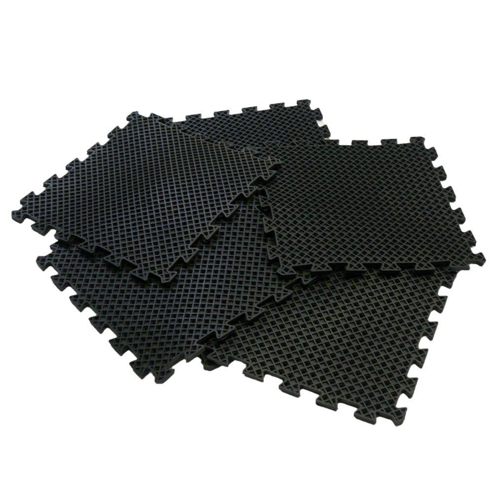 Amazon Rubber Cal Eco Drain Interlocking Rubber Tiles 58