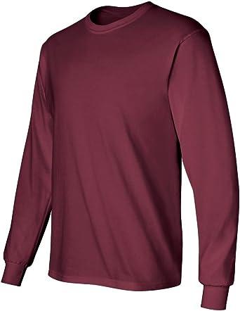 Gildan Activewear - Camiseta de Manga Larga (algodón, Talla S ...