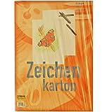 Idena 212063 Zeichenkarton extra stark, DIN A3, 250 g / m², 25 Bogen