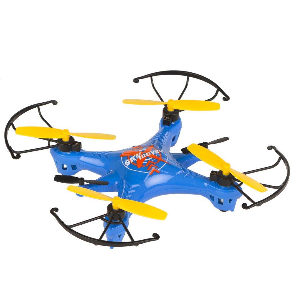 Sky Rover - Mini dron radio control de 4 canales y giros 360º, 16 ...