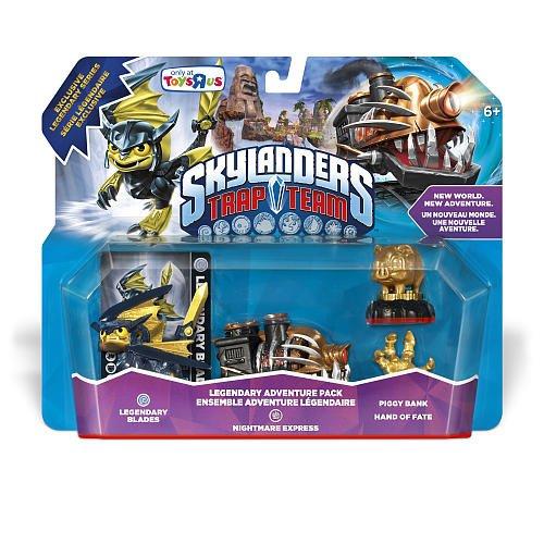 Toys R Us Exclusive Skylanders Legendary Trap Team Adventure Pack Nightmare Express