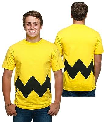 6ccc7597481 Amazon.com  Peanuts I Am Charlie Brown Costume T-Shirt  Clothing
