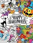 Adult Coloring Book: Happy Halloween...