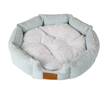 NKLD Accesorios para Mascotas: Cama Redonda Octagonal para Mascotas, sofá para Perros/Gatos