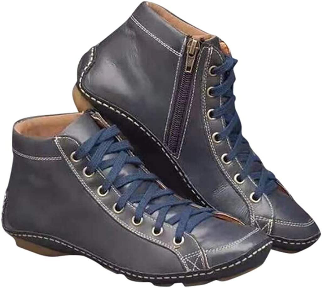 IFOUNDYOU 2020 New Women's Ankle Boots