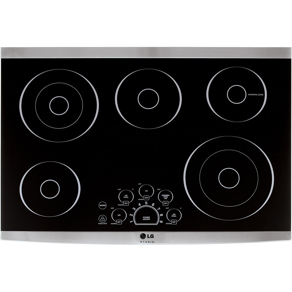 LG LSCE305STStudio 30' Black Smoothtop Cooktop