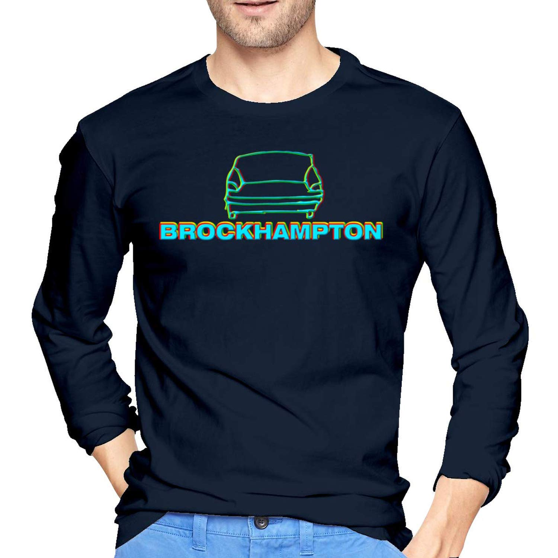 Brockhampton Man Novelty Tshirt Navy