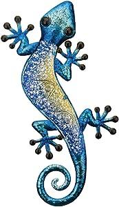 Regal Art & Gift 12361 Watercolor Gecko Decor 18-Blue Wall Décor