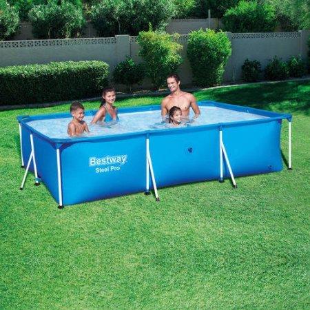 Steel Pro 118' x 79' x 26' Deluxe Splash Frame Pool