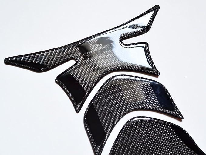 Amazon.com: Kawasaki Stealth efecto de fibra de carbono real ...