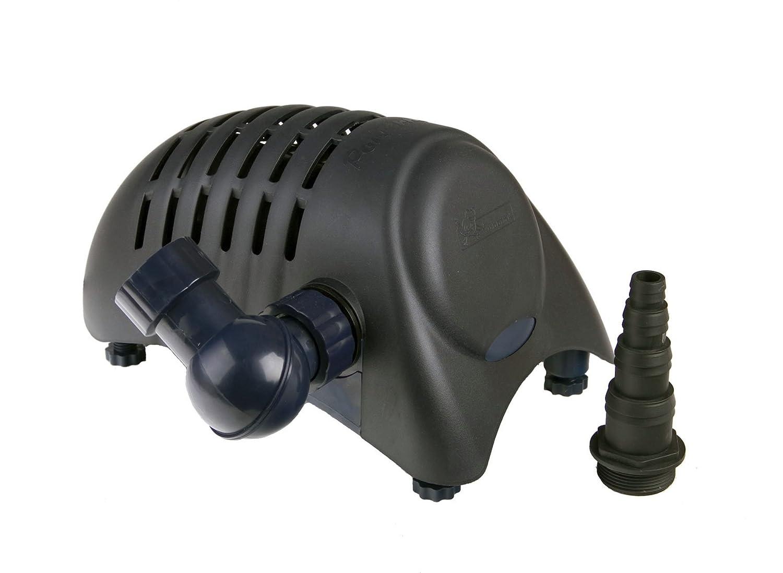 Apollo Powermax Teichpumpe für die Verarbeitung von Schmutzpartikeln bis zu 8 mm, Körnung