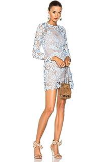 750490505727 DIOR BELLA White Circle Floral Lace Tiered Mini Dress at Amazon ...