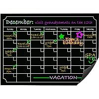 Kbnian Calendario Magnético para Nevera Pizarra Magnética Calendario de Imán Fácil de Escribir y Borrar, Planificador…
