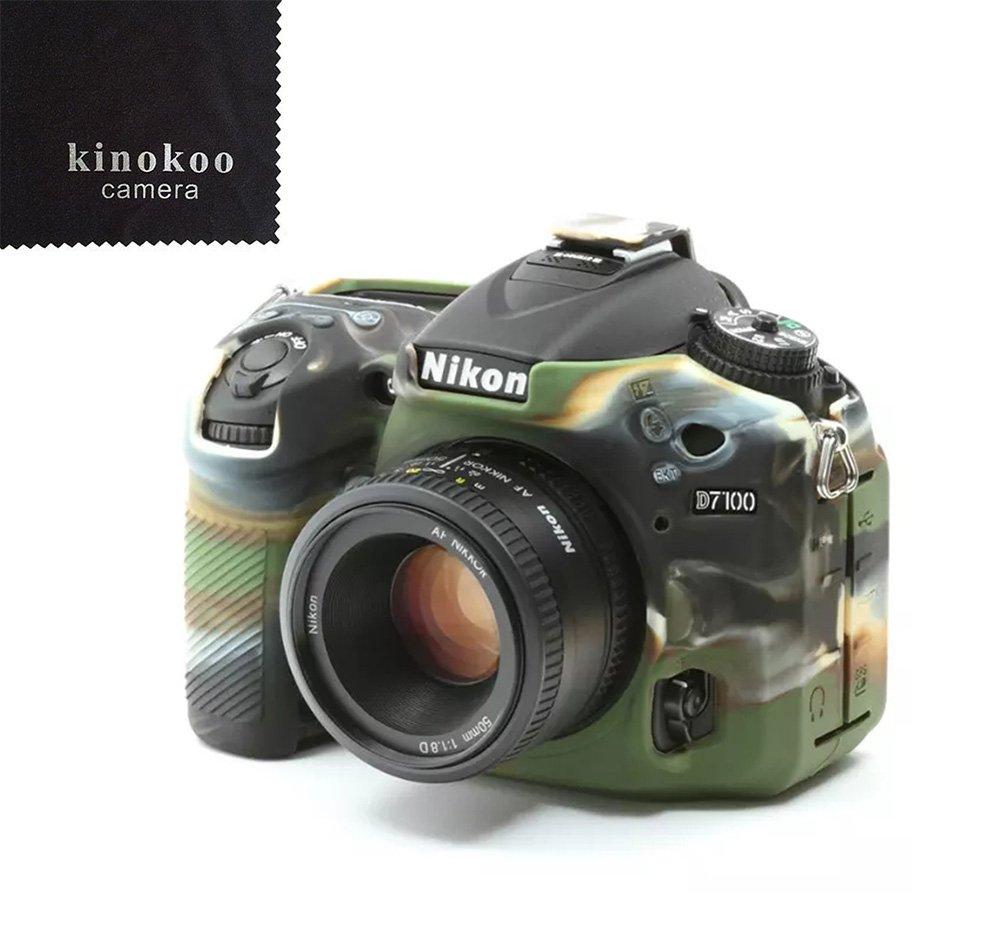 kinokoo Camera Case - Funda de silicona para Nikon D7100 D7200 ...