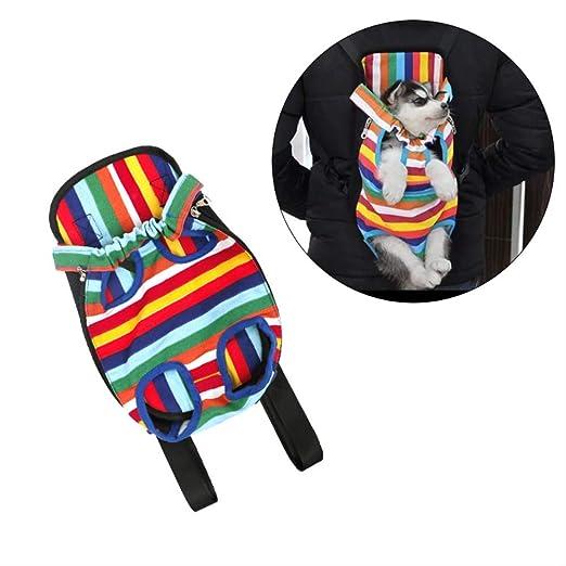 Transportin Carrito Perro 2 en 1 Mochila Carrito Mascotas transportin Gato Pet Dog Cat Carrier Backpack Mochilas de Viaje de Red con Manos Libres M: Amazon.es: Productos para mascotas