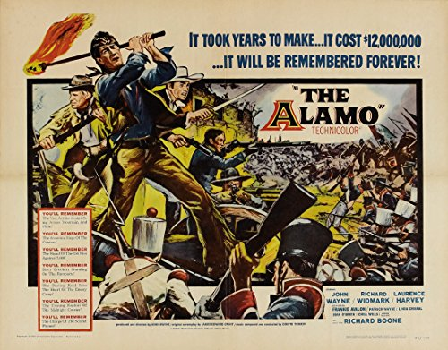 8 x 10 Vintage Photo Poster - Alamo The Hollywood Legends Of the Big Screne