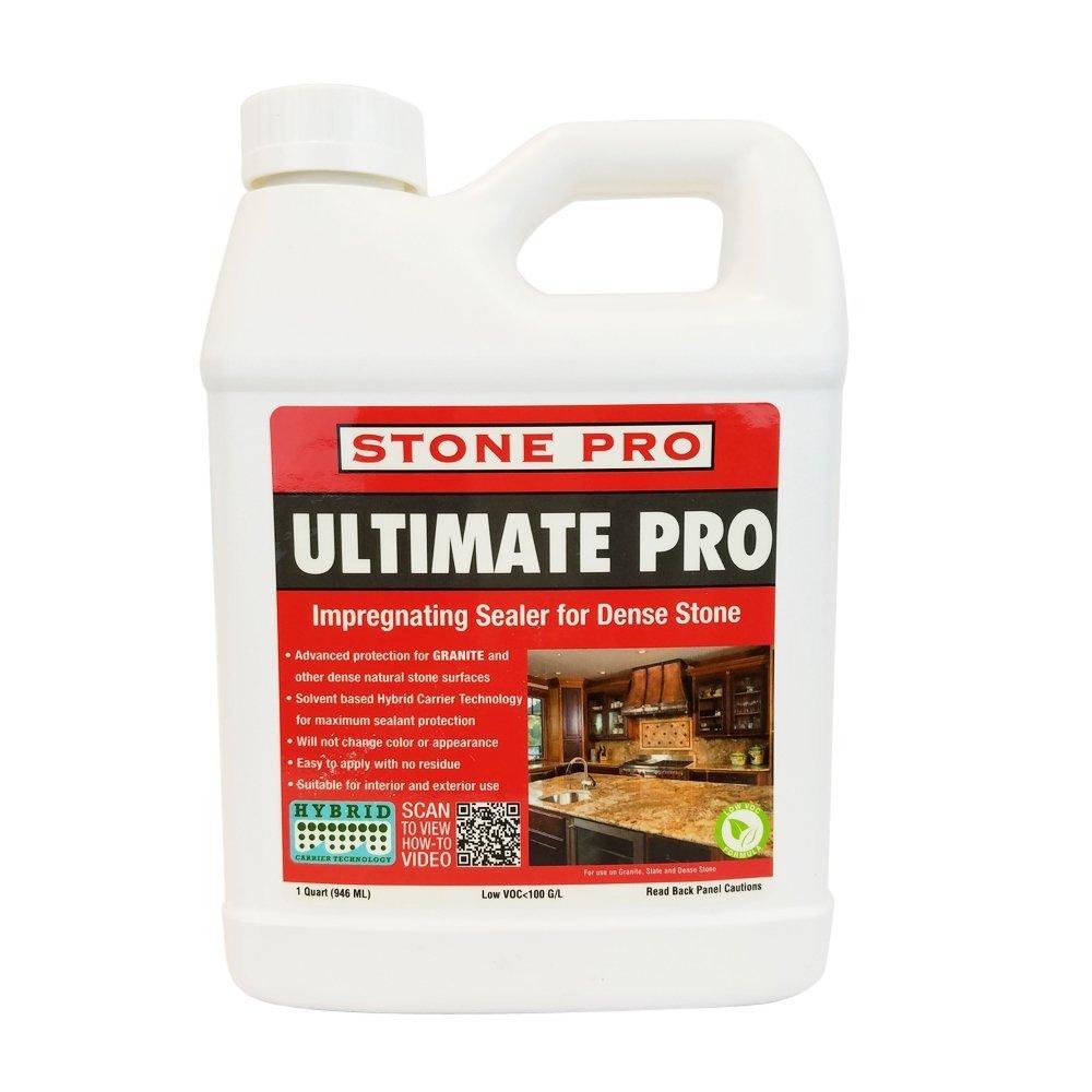 Stone Pro Ultimate Pro - Impregnating Sealer for Dense Stone - 1 Quart by Stone Pro