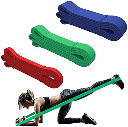 Resistance Bands For Pull Ups Powerlifting Stretching Fitness Booty Gym  Assist
