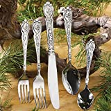 Black Forest Decor Western Silverado Flatware Set (20 pcs)