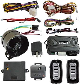 Amazon.com: BANVIE Sistema de alarma de seguridad de 1 vía ...