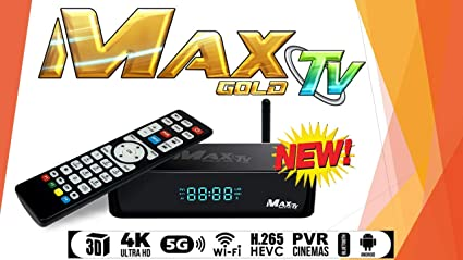 Amazon com: MAX TV Gold 5G PVR IPTV + Android 7 1 64-bit