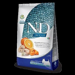 Farmina N&D Ocean Dog Dry Mini GF Cod Pumpkin Orange 15.4 Pounds