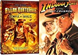 Indiana Jones & The Last Crusade Special Edition & Allan Quatermain and the Temple of Skulls DVD Lost Special Adventure Set