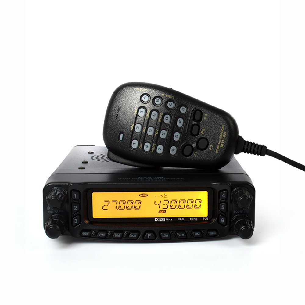 TC-8900R Quad Band 50Watt Mobile Vehicle transceiver HYS Ham/Amateur two way radio with Cross Band Repeat by HYS (Image #2)