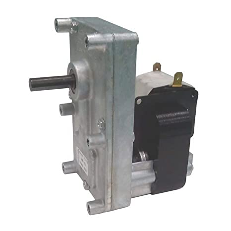 Motorreductor para estufa de pellets T3 2 rpm Pacco 25 mm árbol 9,5 mm